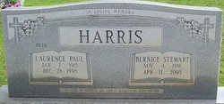 "Laurence Paul ""Pete"" Harris"