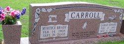 Myrtice <I>Brady</I> Carroll