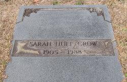 Sarah M. <I>Huff</I> Crow