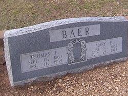 Thomas Felie Baer