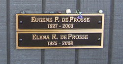 Elena <I>de la Roza</I> de Prosse