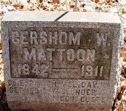 Sgt Gershom Woodruff Mattoon