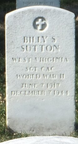 Sgt Billy S Sutton