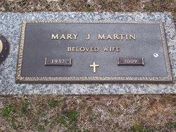 Mary Jane <I>Bagwell</I> Martin