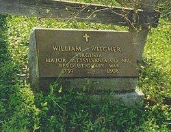 Maj William Witcher