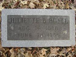 Juliette B Buell