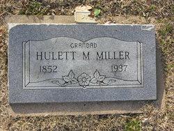 Hulett Marion Miller