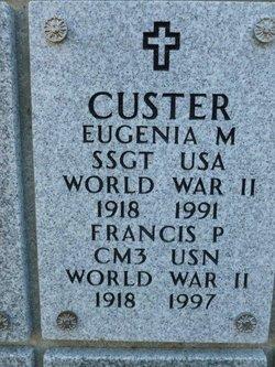 """Francis Peter """"Frank"""" Custer"""