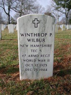 Winthrop P Wilbur