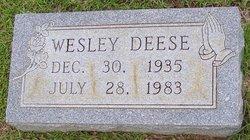Wesley Deese