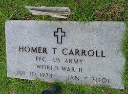 Homer T Carroll