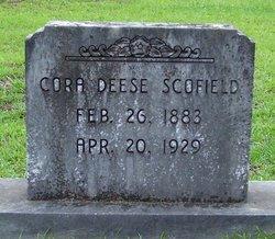 Cora <I>Deese</I> Scofield