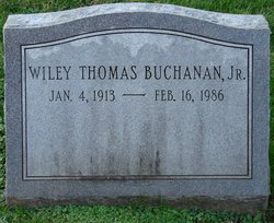 Wiley Thomas Buchanan, Jr