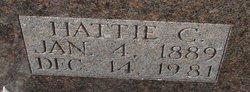 """Harriet C """"Hattie"""" <I>Hobbs</I> Stringer"""