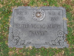 Mary Hester <I>Albert</I> Young