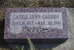 Carrie Lynn Cassidy