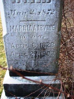 Marria A <I>Irvine</I> Benjamin