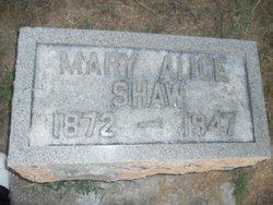 Mary Alice Shaw