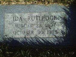 Ida <I>Hayes</I> Rutledge