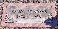 Harry Lee Adams