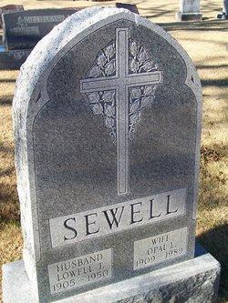 Opal L. <I>Anderson</I> Sewell