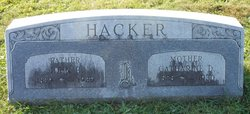"Catharine D ""Kitty"" <I>Stetler</I> Hacker"