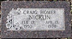 Craig Homer Nicklin