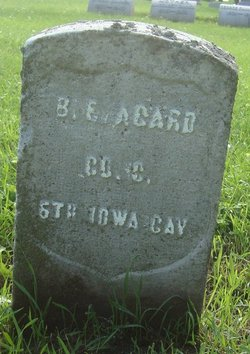 Benjamin E Agard