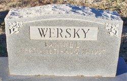 Fannie Wersky
