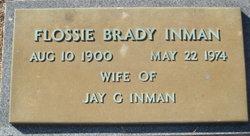 Flossie <I>Brady</I> Inman