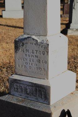 "William Henry Harrison ""Harry"" Stout"