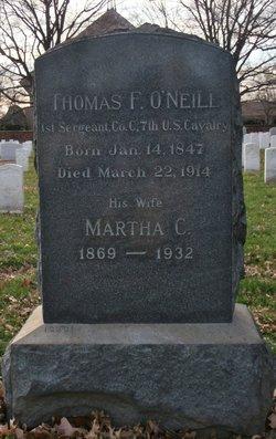 Sgt Thomas F. O'Neill