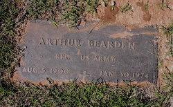 PFC Arthur Aron Bearden