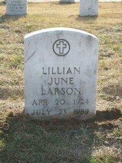 Lillian June <I>Brown</I> Larson