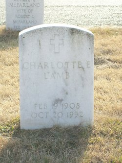 Charlotte E. <I>Larson</I> Lamb
