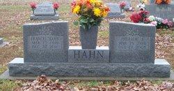 Frances Eugenia <I>Hann</I> Hahn