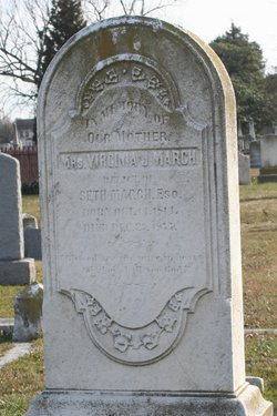 Virginia Jackson <I>Gordon</I> March