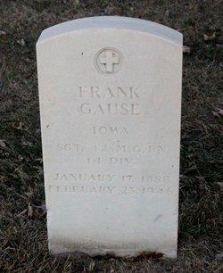 Sgt Frank Gause
