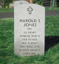 """PFC Harold S. """"Stan"""" Jones"""