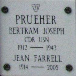 CDR Bertram Joseph Prueher