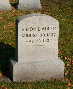 Simon Louis Adler
