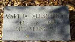 Martha Ellen <I>Grantham</I> Alsobrook