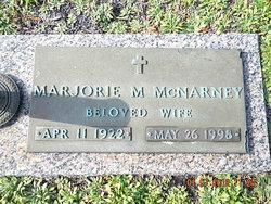 Marjorie Marie <I>Doel</I> McNarney