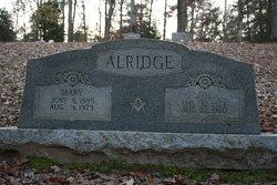 Mary <I>Bagley</I> Alridge