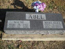 Mary Alice <I>McDowell</I> Abel