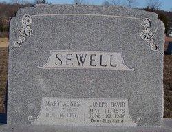 Mary Agnes <I>Slater</I> Sewell