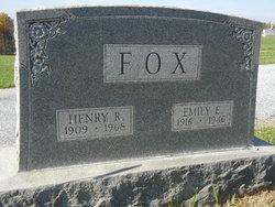 Emily Elizabeth <I>Cashour</I> Fox