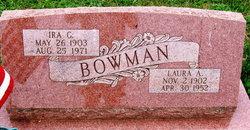 Laura A <I>Foltz</I> Bowman