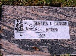 Bertha L. Benson