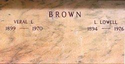 Veral L <I>Warner</I> Brown